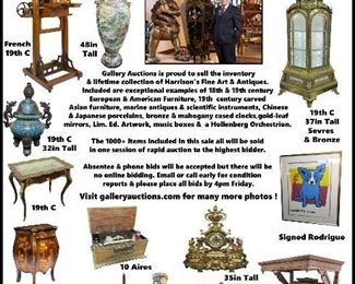 Gallery Auctions Harrison Auction Antique Trader Full Page