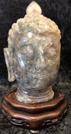 Amethyst Thai Buddha Head