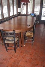 VINTAGE CHERRY TABLE