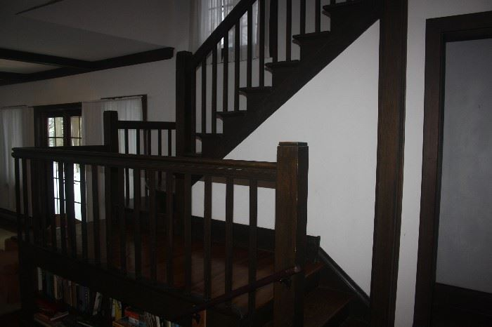 VINTAGE BANISTERS AND RAILINGS