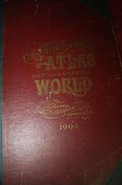 1904 20TH CENTURY ATLAS