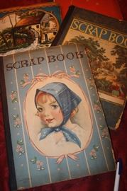 VINTAGE SCRAP BOOKS