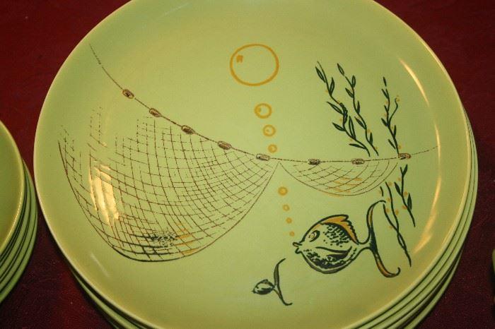 MID CENTURY MODERN ~ MALIBU MODERN DINNERWARE