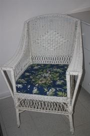 WICKER CHAIR IN GUEST HOUSE