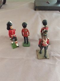 Britain Like Toy Soldiers.