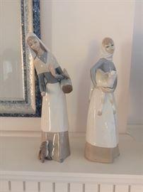 Lladro Figures.