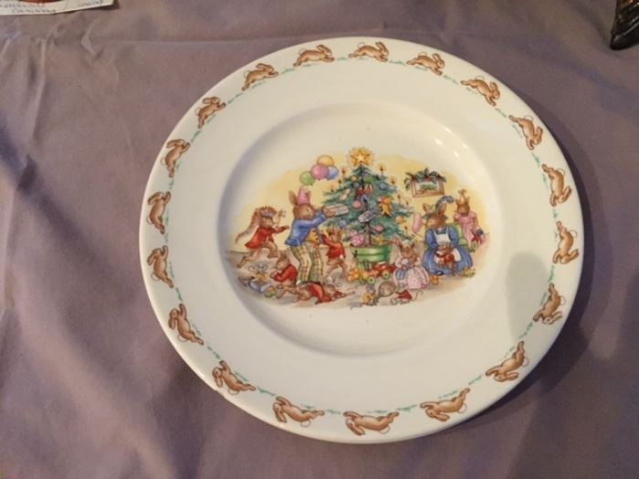 Royal Doulton Bunnykins Plate.
