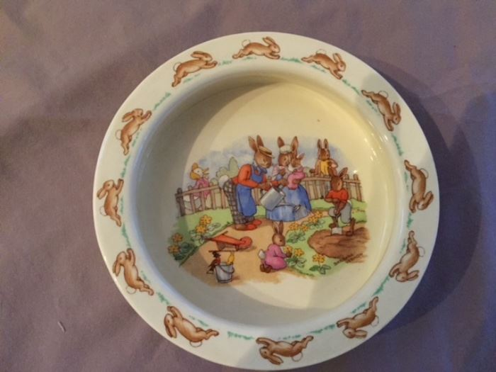 Royal Doulton Bunnykins Bowl.
