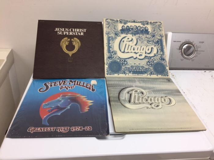 Vintage Record Albums.