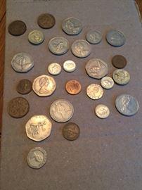 English Coins.