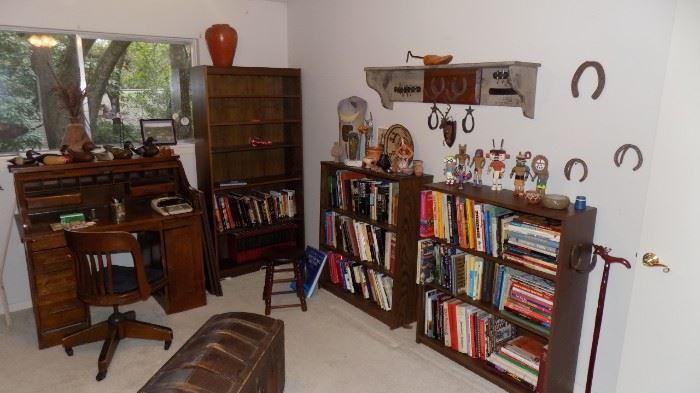 Books on many subjects....collectibles, art, native Americans, old West, Civil War, home improvement, fiction, non fiction, political, and more