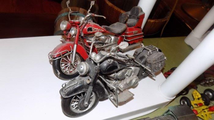 vintage toy motorcycles