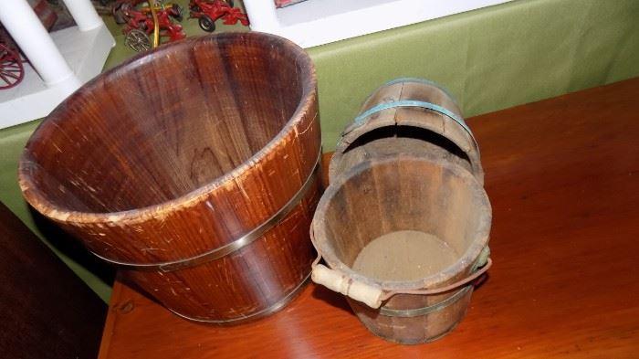 wooden furkins