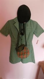 vintage Girl Scout uniform...its Cookie Time!