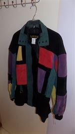 vintage suede jacket...so cool!