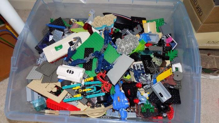 large lot of Legos