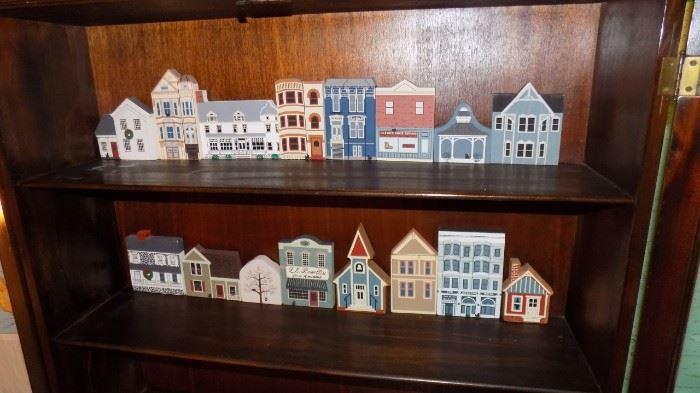 artisan crafted town blocks