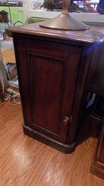 antique smoking cabinet