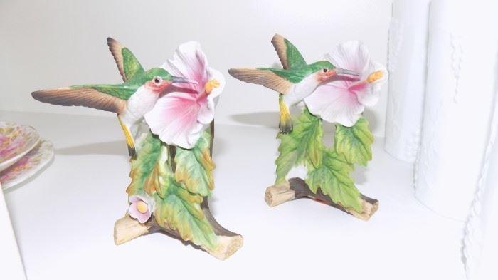 bisque hummingbirds