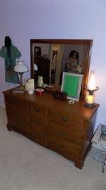 Bassett double dresser