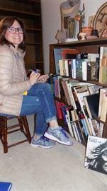 our cute librarian!