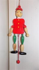 wooden jester jumper