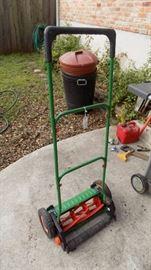 Brill reel type push mower