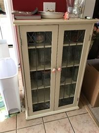 Nice glass front cabinet