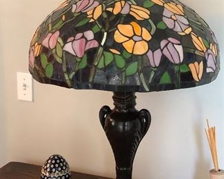 Tiffany style reproduction lamps