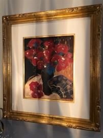 """Framed artwork 26"""" x 28"""" - $175"""