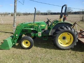 John deere tractor model # 5320