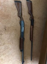 Remington 12 GA Pump Shotgun Model # 870, Winchester 410  Single Shot Youth Model  37A