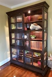 Large Sliding Door Display Cabinet