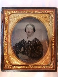 Ambrotype, Seated Woman