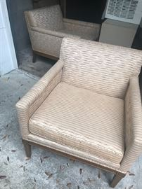 Robinson-Johnson Mid Century Modern Side chairs