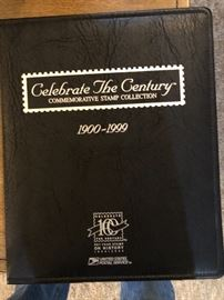 USPS CELEBRATE THE CENTURY COMMEMORATIVE STAMP COLLECTION 1900-1999 FULL SET