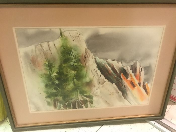Beautiful water color by Marie Greene