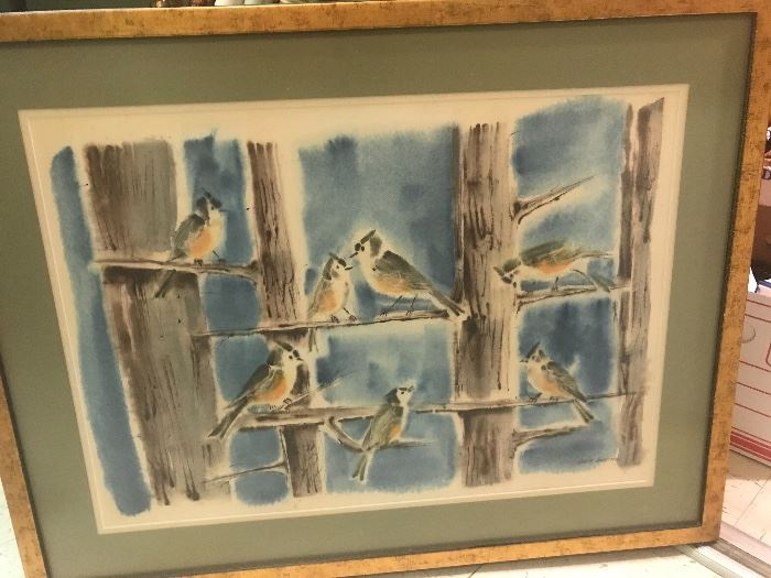 Beautiful water color by Marie Greene!