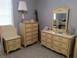Nice French Provencial bedroom set