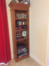 Two matching Ballard bookcases, goes with the middle section
