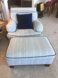 Milling Road club chair one of two