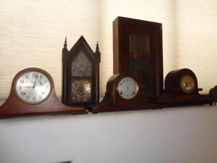 Clocks A Plenty