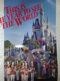 Disney poster from the 15th anniversary