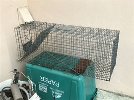 Bait cage, great for unwanted pest. $35