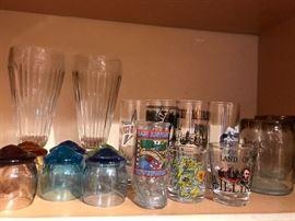 Shot glasses, etc