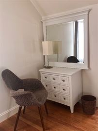 Little Chair is Gone but small dresser with this mirror...
