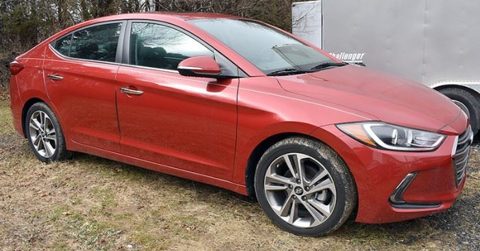 2017 Hyundai Elantra Limited Estate Auto, with 1,457 Miles; Red Exterior, Black Leather Interior; Automatic Transmission; Heated Seats; AM/FM/Satellite Stereo with CD Player; Navigation System; Bluetooth; Remote Keyless Entry with Push Start/Off; Power Everything! Including Power Moonroof, and much more! VIN: 5NPD84LF4HH116267 Vehicle Terms - Vehicles are sold AS IS, in AS FOUND/ESTATE condition. - Minimum of 10% deposit due on day of auction. May be paid with Cash, Check, VISA, MC, Debit. - Balance paid in full by Thursday following. Must be paid with Cash or Certified Bank Check ONLY
