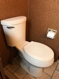 1 of 4 white toilets ...like new!