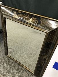 asian ornate mirror