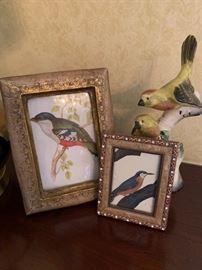Lots of amazing bird art....